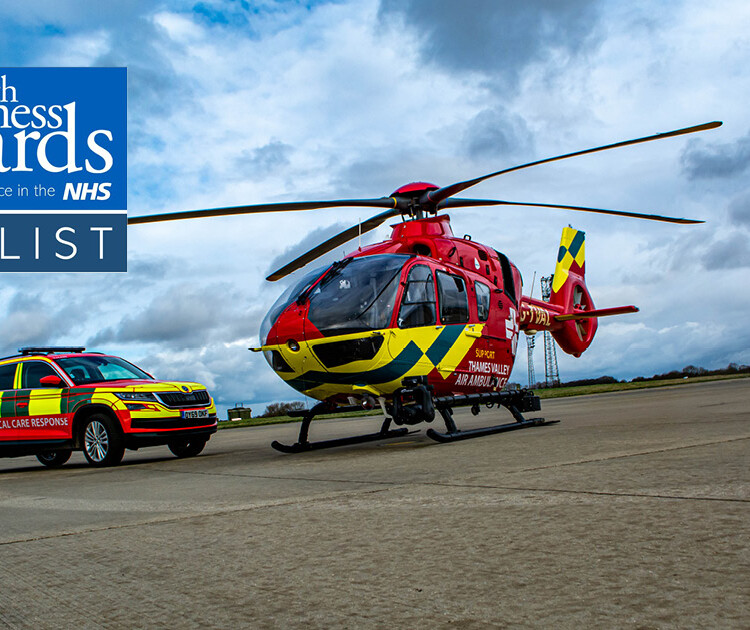 Thames Valley Air Ambulance nominated for two Health Business Awards